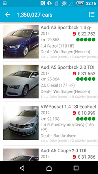 AutoUncle: Used car search, compare prices APK screenshot 1