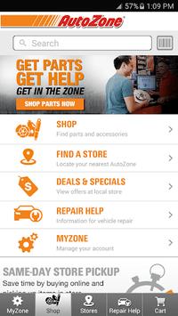 AutoZone APK screenshot 1