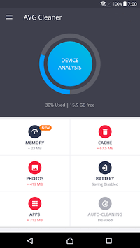 AVG Cleaner – Speed, Battery & Memory Booster APK screenshot 1