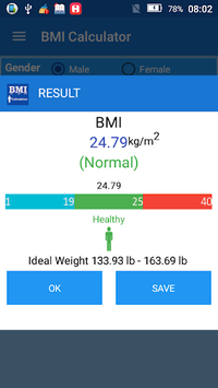 Body Mass Index BMI Calculator APK screenshot 1