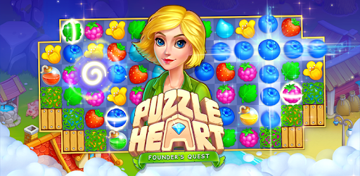 Puzzle Heart Match-3 Adventure pc screenshot