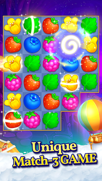 Puzzle Heart Match-3 Adventure APK screenshot 1