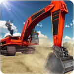 Heavy Sand Excavator Simulator icon