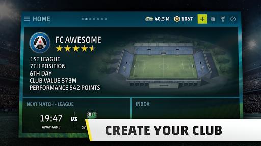 SEASON 18 - Pro Soccer Manager Game APK screenshot 1