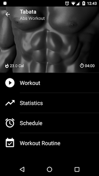 Tabata HIIT. Interval Timer APK screenshot 1