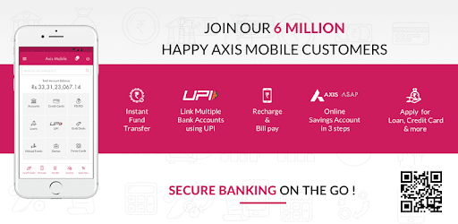 Axis Mobile- Fund Transfer,UPI,Recharge & Payment pc screenshot