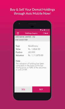 Axis Mobile- Fund Transfer,UPI,Recharge & Payment APK screenshot 1