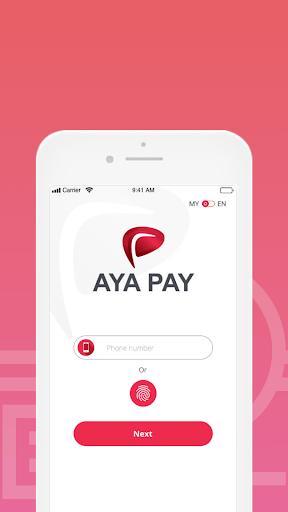 AYA PAY Wallet APK screenshot 1