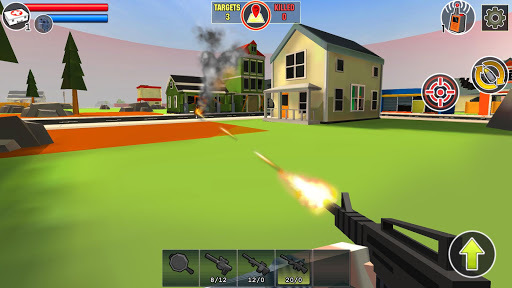 PIXEL'S UNKNOWN BATTLE GROUND APK screenshot 1