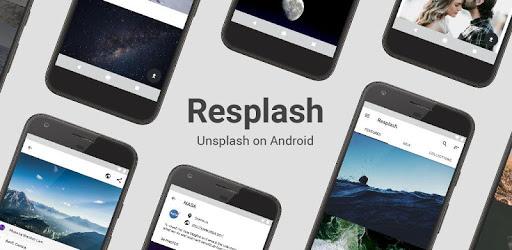 Resplash pc screenshot