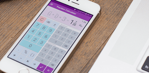 Fractions Calculator - detailed solution available pc screenshot