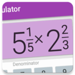 Fractions Calculator - detailed solution available icon