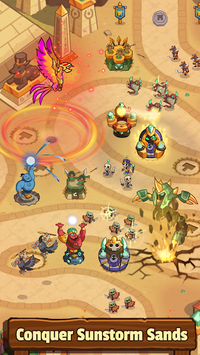 Realm Defense: Hero Legends TD Epic Strategy Game APK screenshot 1