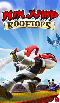 NinJump Rooftops APK screenshot 1