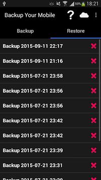 Backup Your Mobile APK screenshot 1