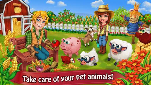 Farm Day Village Farming: Offline Games APK screenshot 1