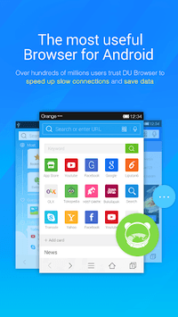 DU Browser—Browse fast & fun APK screenshot 1