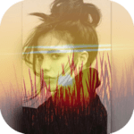 Square Blend Pic Collage-Sunset photo editor icon