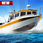 Fishing Boat Driving Simulator : Ship Games icon