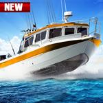 Fishing Boat Driving Simulator : Ship Games icon