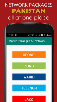 Pakistan Mobile Packages APK screenshot 1