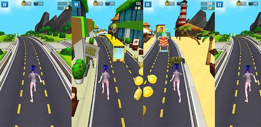 Subway lagybug And Chat Noir pc screenshot