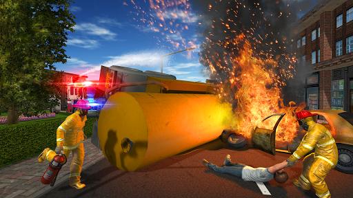 Fire Truck Game APK screenshot 1