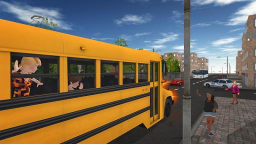 School Bus Game APK screenshot 1