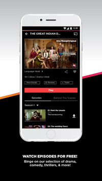 ALTBalaji – Original and Exclusive Indian Shows APK screenshot 1