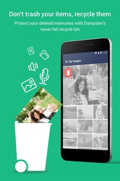 Dumpster: Recover My Deleted Picture & Video Files APK screenshot 1