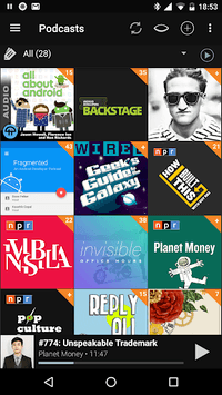 Podcast Addict APK screenshot 1