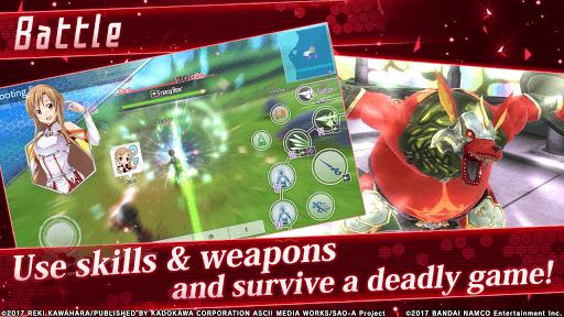 Sword Art Online: Integral Factor APK screenshot 1