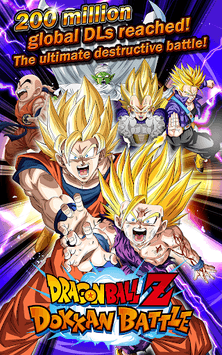 DRAGON BALL Z DOKKAN BATTLE APK screenshot 1
