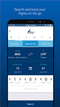 Bangkok Airways APK screenshot 1