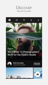 EyeEm - Camera & Photo Filter APK screenshot 1