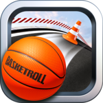 BasketRoll: Rolling Ball Game icon