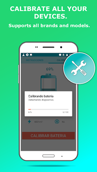 Battery Calibration Pro and Free APK screenshot 1