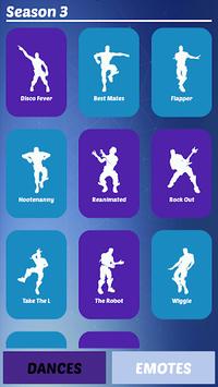 Battle Royale Dance Emotes Season 6 APK screenshot 1
