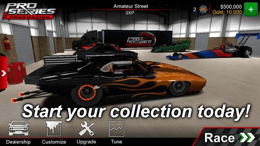 Pro Series Drag Racing APK screenshot 1
