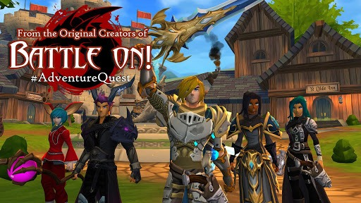 AdventureQuest 3D MMO RPG APK screenshot 1