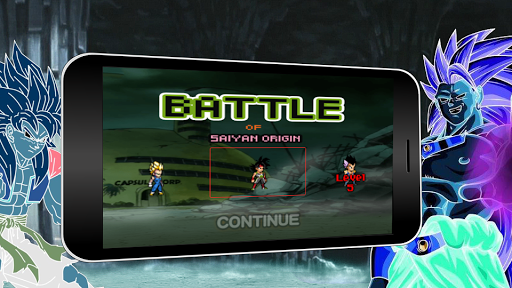 Battle of Saiyan Origin APK screenshot 1