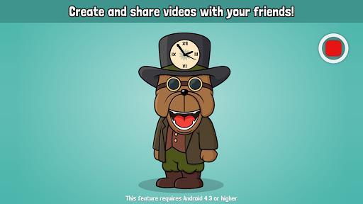 VoiceTooner - Voice changer with cartoons APK screenshot 1