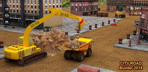 City Road Builder 2018 pc screenshot