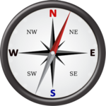 Gyro Compass App for Android: True North Direction for pc icon