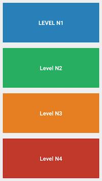 Japanese Language Proficiency Test - JLPT Test APK screenshot 1