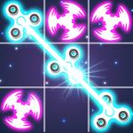 Tic Tac Toe Glow - Fidget Spinner icon