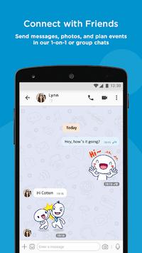 BBM - Free Calls & Messages APK screenshot 1