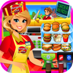 Drive Thru Simulator - Kids Mega City Food FREE icon