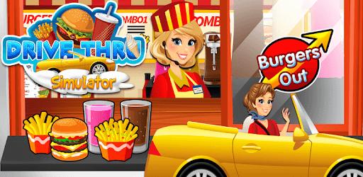 Drive Thru Simulator Kids Free pc screenshot