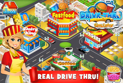Drive Thru Simulator Kids Free APK screenshot 1